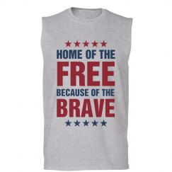 Home Of The Free 4th Of July