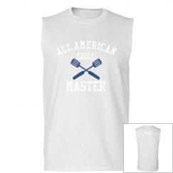 Custom Last Name Grill Master Tank