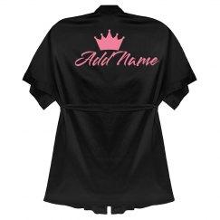 Custom Rose Text Queen Gift