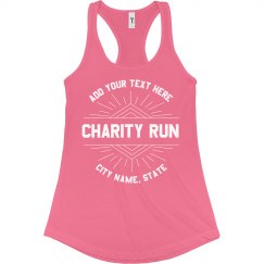 Group Charity Run No Minimums