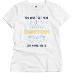 Custom Charity Shirt