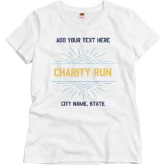 Custom Charity Shirt