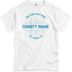 Custom Charity Group Tee