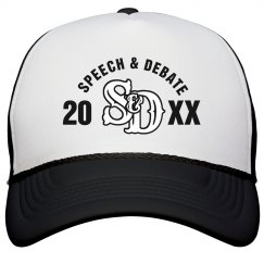 Speech & Debate Hat