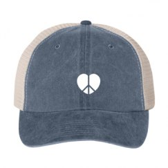 Cotton Twill Snapback Trucker Hat