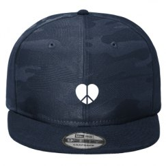 New Era Original Fit Flat Bill Snapback Hat