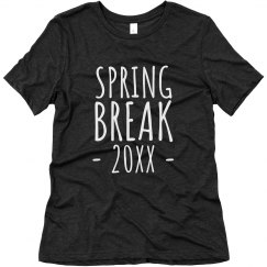 Custom Date Spring Break Tee