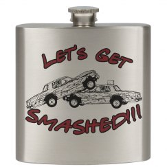 Let's Get SMASHED demo derby flask