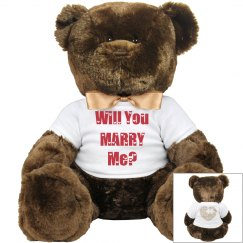 Will you marry me BEAR
