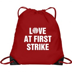 Volleyball Love At First Strike