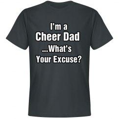 Cheer Dad Excuse Tee