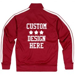 Create a Custom Sporty Track Jacket