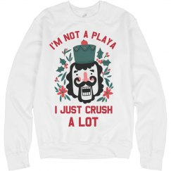 I'm Not A Playa Funny Xmas Sweater