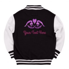 Metallic Custom Kids Gymnastics Jacket