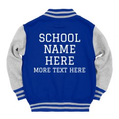 Custom Kids School Pride Spirit Wear
