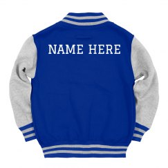 Custom Kids Name Trendy Jacket