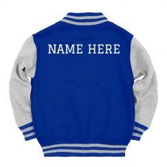 Custom Kids Name Trendy Jacket