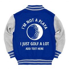 Custom Kids I Golf A Lot