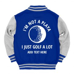 Custom Kids I Golf A Lot