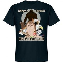 Big Elder Brother Bigfoot Tee