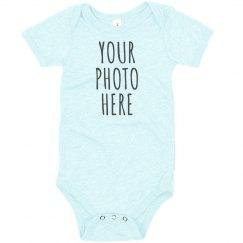 Custom Baby Photo Upload Design