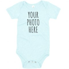 Custom Baby Photo Upload Design