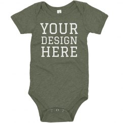 Custom Design Baby Triblend