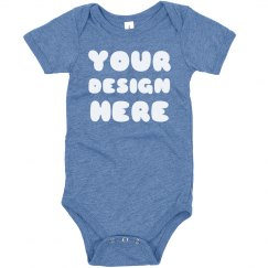Custom Triblend Baby Shirts