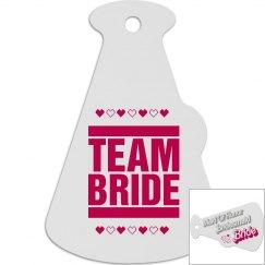 Team Bride Tag