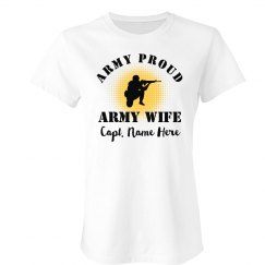 Army Wife Tee