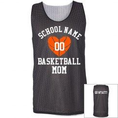 Basketball Mom Heart