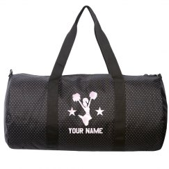 Add Your Name Cheer Duffel Bag
