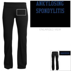 ANKYLOSING SPONDYLITIS WARRIOR SOFT YOGA PANTS