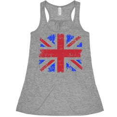Distressed UK Flag