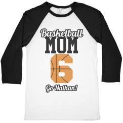 Customize Basketball Mom Shirts With Custom Text