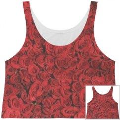 Love rose tank top.