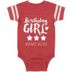 Birthday Girl Custom Onesie
