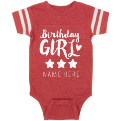 Birthday Girl Custom Onesie
