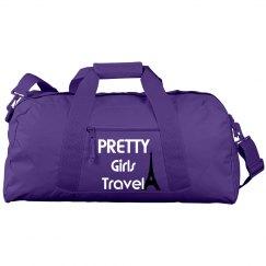Pretty girls travel bag