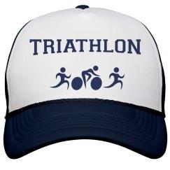 Triathlon Peak Cap