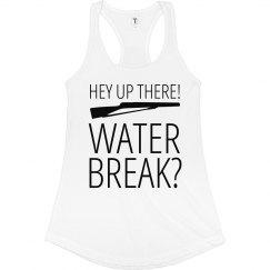 Funny Color Guard Rifle Water Break Shirt