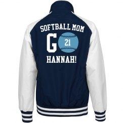 Hannah's Softball Mom