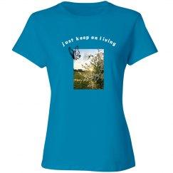 Keep Living Butterfly Tee