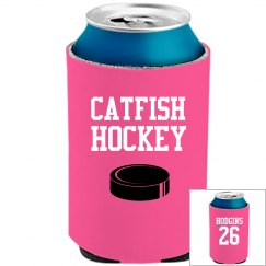 Catfish Hockey Koozie
