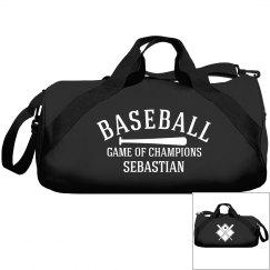 Sebastian, baseball bag
