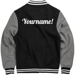 Design A Trendy Varsity Bomber Jacket With Your Name
