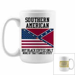 Southern American Coffee Cup