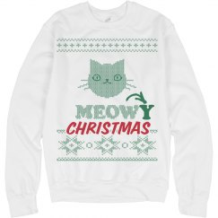 Meowy Christmas Sweatshir