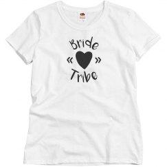 Bride tribe shirt