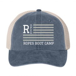 ROPES FLAG HAT